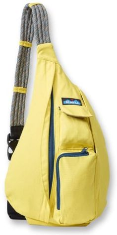 Lemon Drop Kavu Rope Bag. NEW Spring 2016 colors are now available at Great Lakes Outpost!
