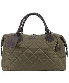 Barbour Quilted Travel Explorer Bag