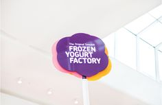 The Original Swedish Frozen Yogurt Factory on Behance