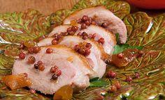 Sautéed Duck Breasts with Apricot Szechuan Peppercorn Sauce by Sara Moulton #recipe at dartagnan.com