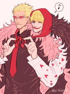 Corazon Cora-san Donquixote Rosinante Donquixote Doflamingo Joker Donquixote Brothers One Piece