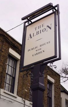 The Albion pub, Islington London