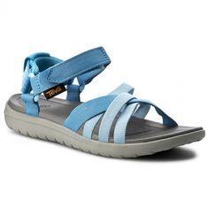 Szandál TEVA - Sanborn Sandal 1015161 Blue - Hétköznapi szandálok - Szandálok - Papucsok és szandálok - Női | ecipo.hu Furla, Clarks, Model, Blue, Shopping, Shoes, Fashion, Sandals, Moda