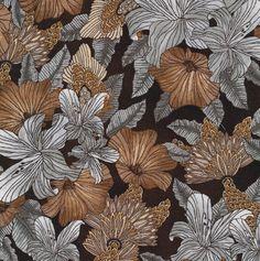 Elemental Lines Large Floral Dark