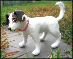 Bailey Sculpture by HollieBollie.deviantart.com on @deviantART  Awwww, this is just so cute! :)