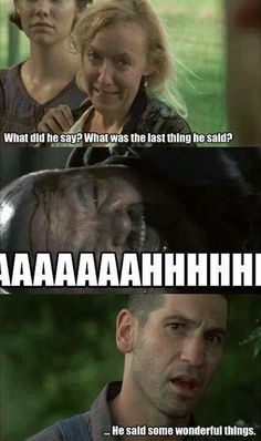 Patricia, Otis and Shane | The Walking Dead funny meme