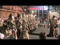 Xabia moors and christians parade