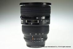 NIKON AF NIKKOR ED 20-35mm f/2.8D Excellent #Nikon