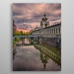 Famous Crown Gate of Dresden Z. by Stefan Becker Wall Art Prints, Canvas Prints, Dresden, Gate, Canvas Art, Louvre, Wall Decor, Posters, Crown