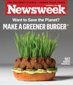 We're not the only ones singing the praises of grass-fed beef...check out the cover of the October 25th issue of Newsweek!