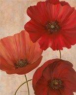 Poppy Trio II  Fine Art Print