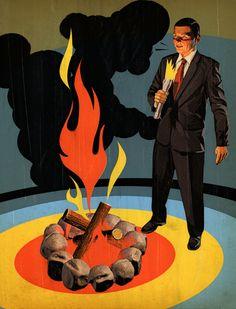 Tavis Coburn - Harvard Business Review, Opener for an article on the importance of being a good storyteller ::: www.dutchuncle.co.uk/tavis-coburn-images