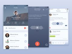 Voice Messaging App