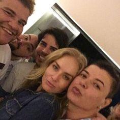 David Brazil comemora aniversário com Angélica e amigos no Rio (Foto: Instagram/ Reprodução)