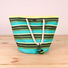 1c17397535075 Sztywna słomkowa torba kosz Roxy Sun Seeker - Bright Moss    www.brandsplanet.pl
