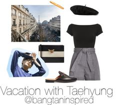bangtaninspired — Vacation with BTS Kpop Fashion Outfits, Edgy Outfits, Korean Outfits, Cute Casual Outfits, Girl Outfits, Korean Girl Fashion, Cute Fashion, Look Con Short, Bts Clothing