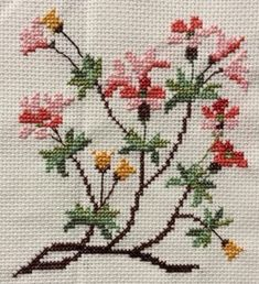 Cross Stitch Love, Cross Stitch Borders, Cross Stitch Flowers, Cross Stitch Designs, Beginner Quilt Patterns, Quilting For Beginners, Ribbon Embroidery, Cross Stitch Embroidery, Thread Art