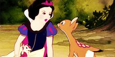 Pin for Later: 40 Disney Princess Secrets You Never Knew Growing Up Snow White is only 14 years old. A little young to be bunking with seven other dudes and kissing strangers, if you ask us.