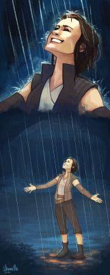 rey - with the falling sky and the rain by shorelle <-- My heart