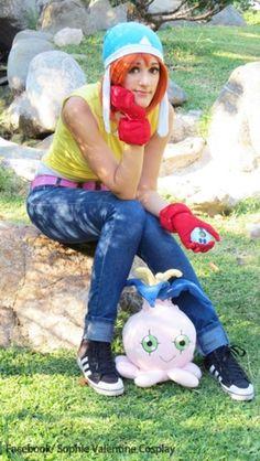 Digimon Sora cosplay  [FACEBOOK: https://www.facebook.com/sophievalentinecosplay]