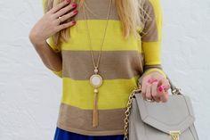 Stripes & gold