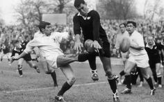 """Sir Colin Meads, who has died aged was voted """"the greatest All Black of the century"""" by the New Zealand Rugby Football Union in Jason Leonard, Jonah Lomu, Jason Robinson, All Blacks Rugby Team, Richie Mccaw, Dan Carter, Rugby Games, New Zealand Rugby, Martin Johnson"""