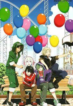 Mekakucity Actors, Seto, Marry, Shintaro, Kido and Kano   Fun park!