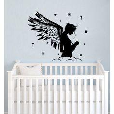Fairy Nursery Vinyl Sticker Wall Art