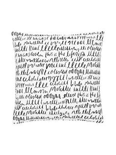 cotton this is the life decorative pillow - kate spade new york