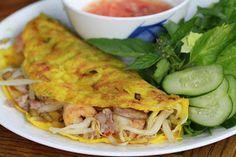 Sizzling Vietnamese Pancake-Banh Xeo
