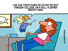 We love the tooth fairy! Do your kids still believe?