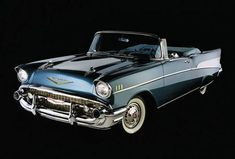 '57 Chevy Convertible..Re-Pin brought to you by #Insuranceagents at #houseofInsurance in #Eugene