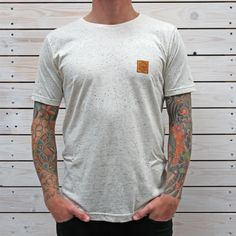 The patch tee from our Spring 2013 range, was dreamt up, designed and printed in our store and workshop North Cornwall.....Enjoy!Fine speckled tee, 98% Cotton 4% polyester