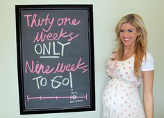 ....... polka dots, bump tracker, money buy, chalk board, buy cloth, maternity outfits, chalkboard, wast money, week babi