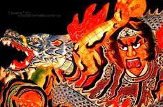 Nebuta Festival, Aomori, Japan!    I helped make one of these floats in Aomori, Japan in 1992!