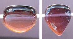 Free How-to Tutorials offered by Devardi Glass: Making A Heart Bead.