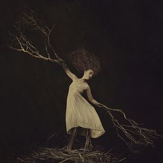 when i grow up. Photo by Brooke Shaden