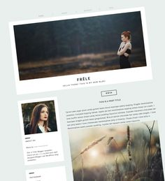 Download Frele Responsive Photography Blogger Template with Slider - Ideal for…