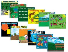 Level Two Readers for pre-k or ESL readers starting the CAAN Read program. Themes include colours, numbers and simple sight words. Preschool Age, Sight Words, Esl, Numbers, Colours, Reading, Children, Simple, Young Children