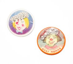 Oleg Popov Badge Soviet Sad Clown Stereo Russian by Teremshop