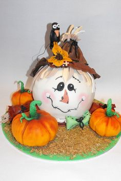Fall - by Nelly Konradi @ CakesDecor.com - cake decorating website