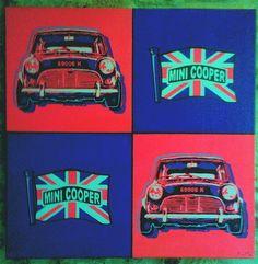 Mini Cooper in art