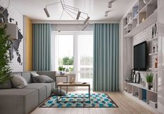 19 Small Living Room Design Ideas That Cost .- 19 Small Living Room Design Ideas That Should Be Armed By Those Who Are Planning To Repair – Self-Made Small Space Living Room, Living Room Grey, Living Room Modern, Living Room Interior, Living Room Designs, Living Room Decor, Tiny Living, Minimalist Room, Beautiful Living Rooms