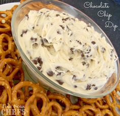 chocolate chip party dip