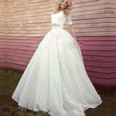 Abiti-Da-Sposa-Boho-Long-Two-2-Picec-Simple-Bridal-Gowns-font-b-Bohemian-b-font.jpg (800×800)