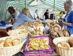 The Howardian Hills have a strong regional food scene. Most of these delicacies are available from one of the local markets