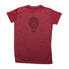 T-Shirt Skull Rot, 25€, jetzt auf Fab.