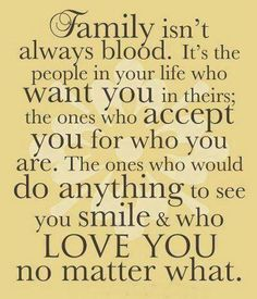 Family are those who stand by You #Quote #Motivational #Inspirational