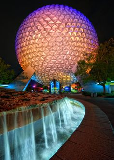 Epcot. Such a beautiful place and I had the opportunity (for quite some time) to go there whenever I wanted <3