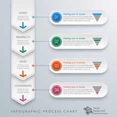 CRM workflow_Marketing Funnel #Vector Graphic